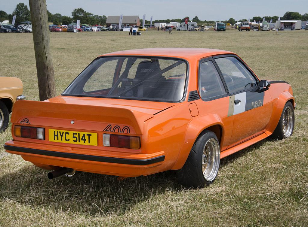 1979 Orange Opel Ascona 400 rear HYC 514T | Seen at the ...