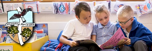 Reading together | by Hawkhurst CEP School Web Site Photos
