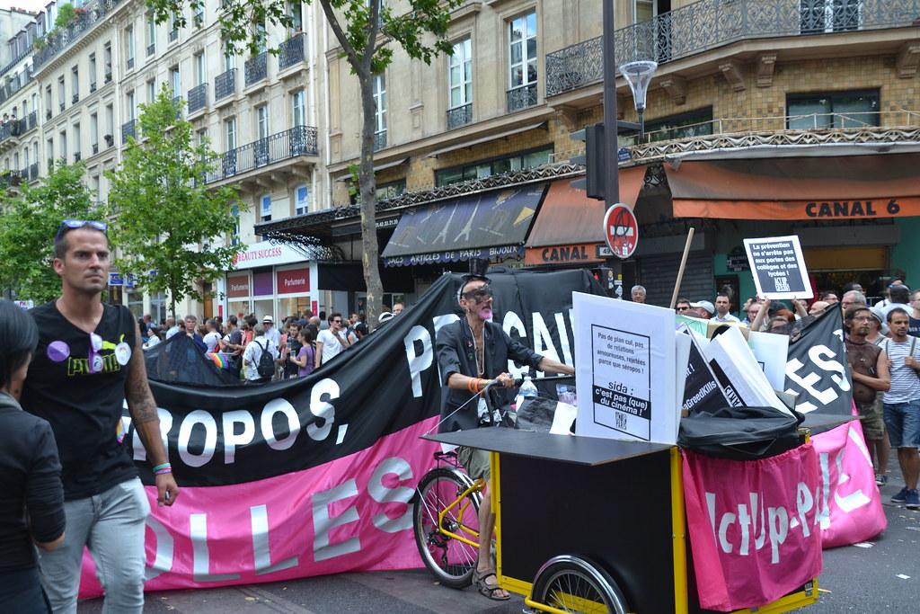 Paris Pride 2017 - Act-up