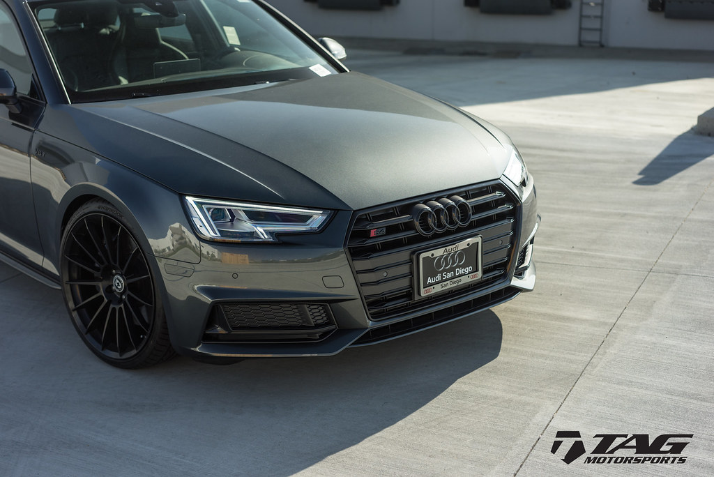 Audi S4 Black Optics Package | Audi S4 equipped with TAG Cos