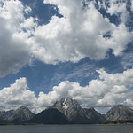 Mt. Moran with Jackson Lake