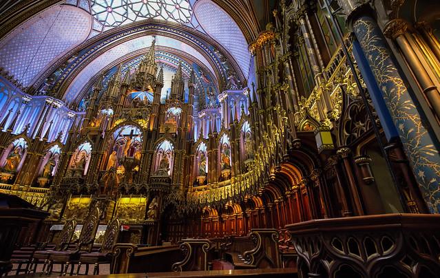 Notre-Dame Basiliek / Montreal