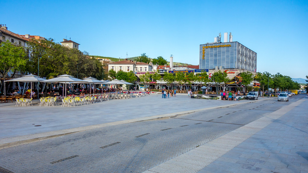 Trg Stjepana Radica Crikvenica Miha Klemencic Flickr