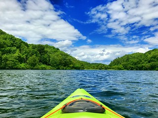 quality kayaking with odin on father's day at jersey valley! | by snowdeal