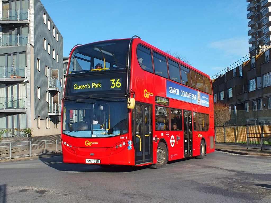Go Ahead London Central - EH13 - SN61DBU