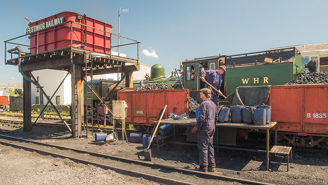 The Work Never Ends To Keep A Steam Train Running