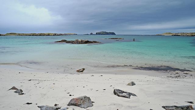 Bostadh Beach..