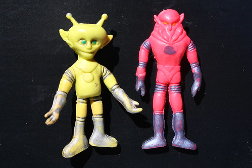 Mini Bendable Space Marauders (Toy House 1960's)