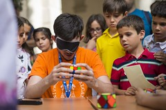 Exhibición de Rubik