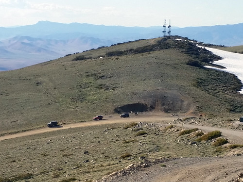 peavinepeak reno nv mountain view jeeps communications towers guns shooting peavine guncontrol america