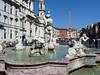 Piazza Navona – Fontana del Moro a v pozadí Fontana dei Quattro Fiumi, foto: Petr Nejedlý