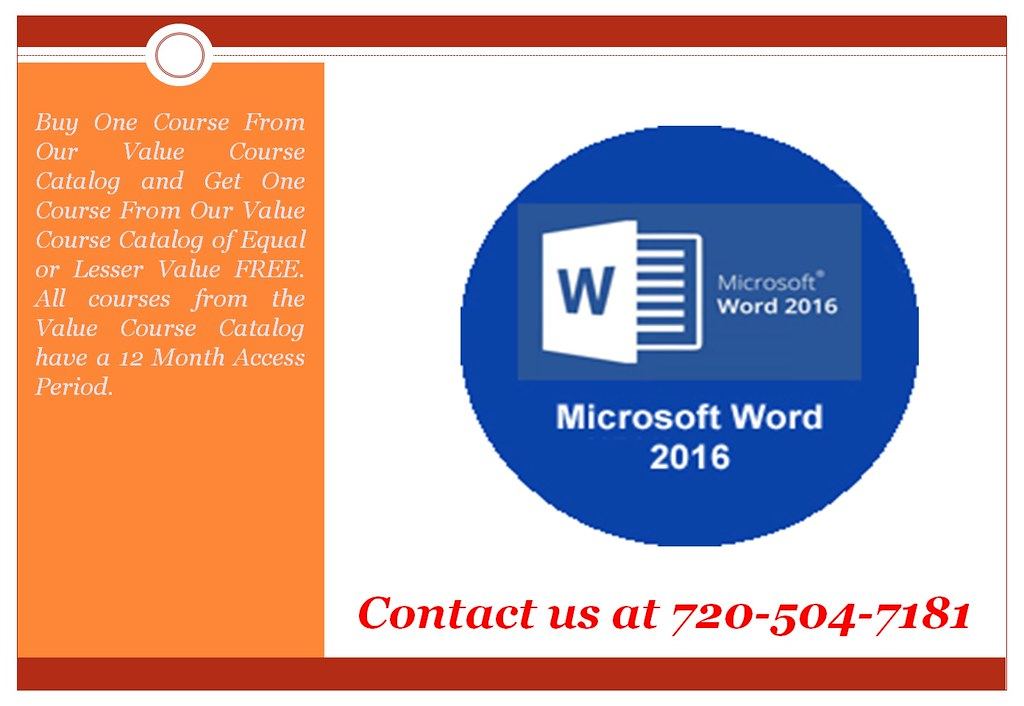 Microsoft Word 2016 - Online Training - Online Certificati… | Flickr