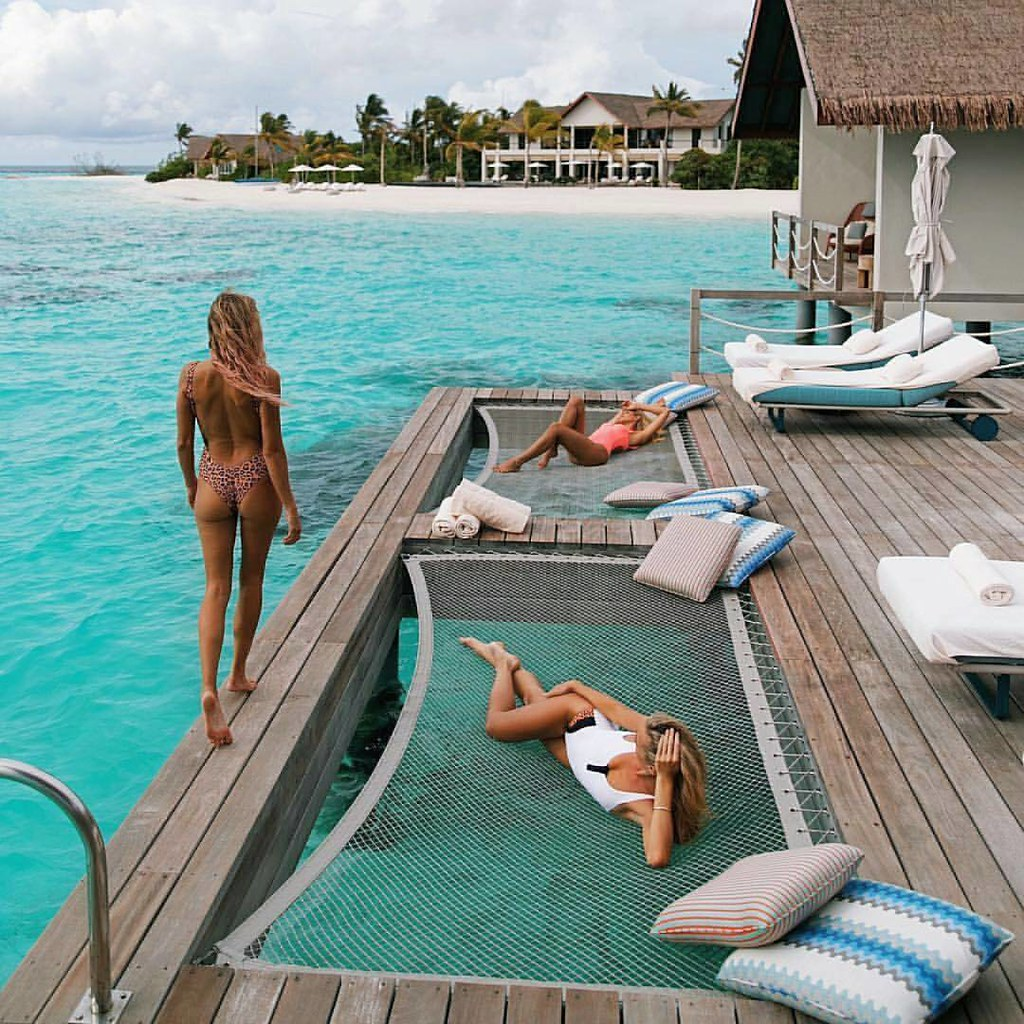 Private Island Beaches: Four Seasons Private Island Maldives #luxury #best #travel