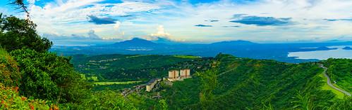 aerial asia asiatrip discoverasia landscape mount mountain panorama panoramic parco park philippines tourism travel trip turismo viaggiare viaggio
