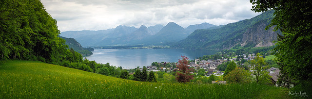 St. Gilgen - a village by the Wolfgangsee