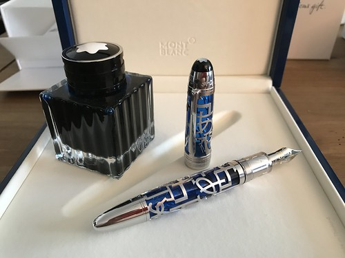 Meisterstück UNICEF Skeleton 149 Fountain Pen | by Cyrille81