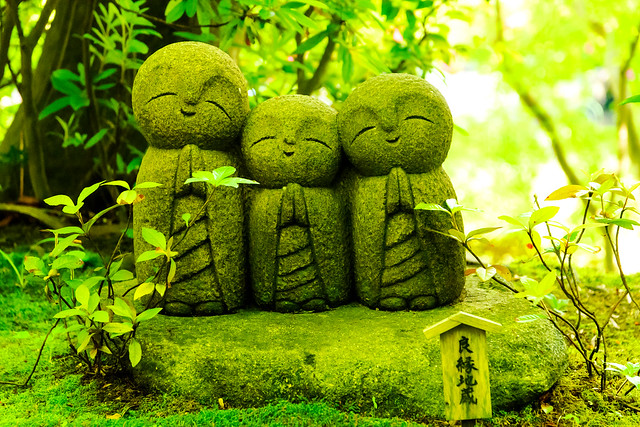 Smiley Jizo Collection of Hase Knnon : 良縁地蔵(長谷観音)