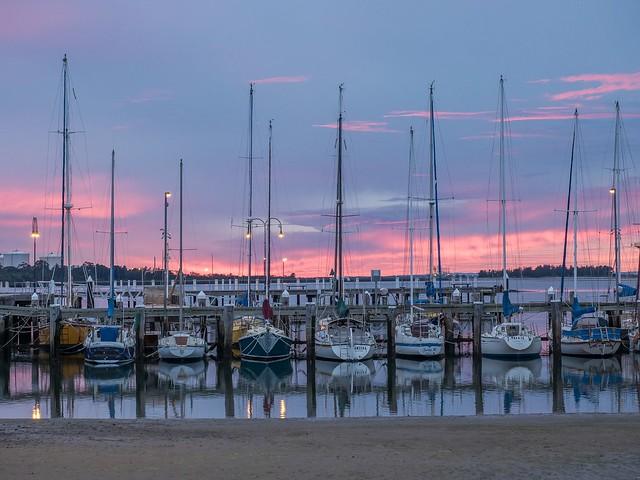 Hastings Marina, Victoria.