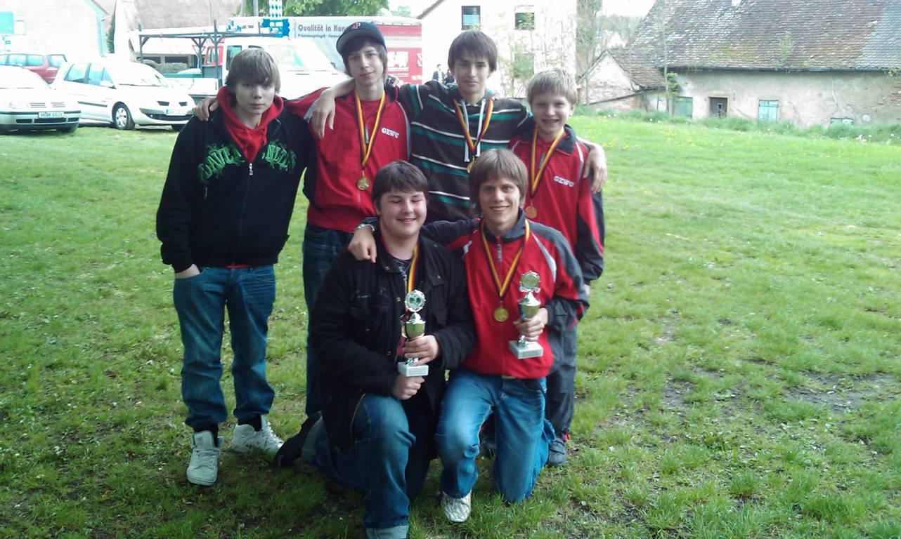 2008 Jugend-Siegerehrung