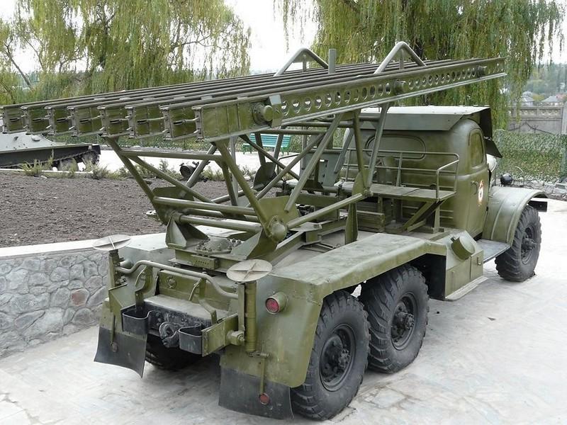 BM-13 on ZiL-157 5