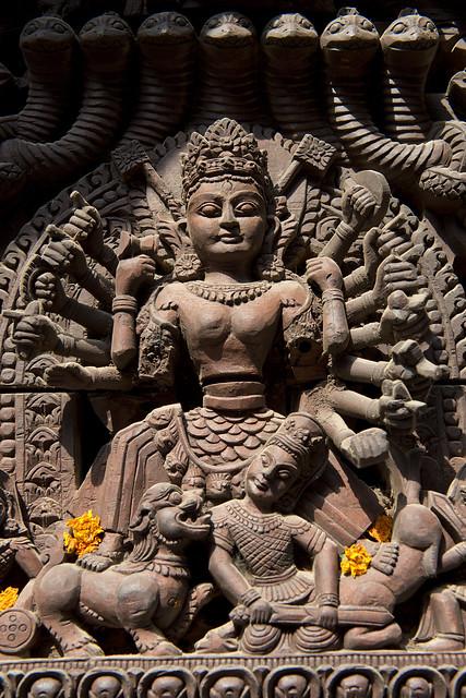 NPL - Durga - Nyatapola Temple - Bhaktapur