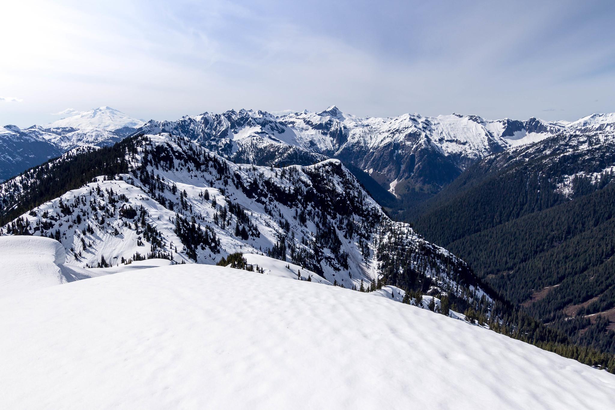 Northwest view