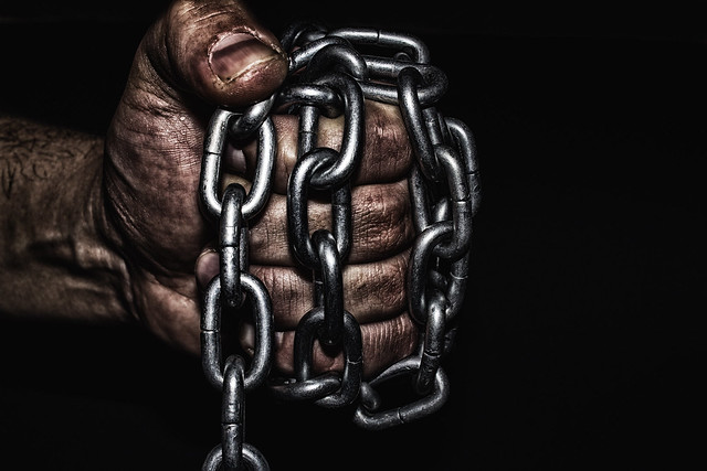 Hand with CHAIN