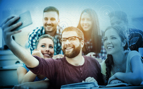 Millennials_Selfie | by CommScope