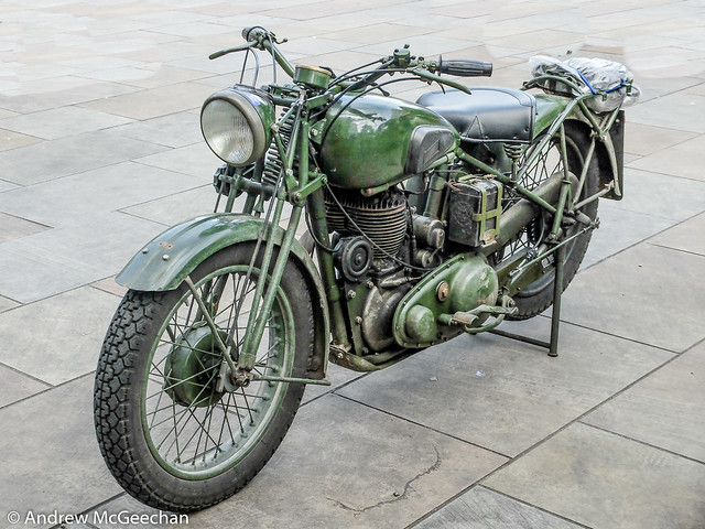 1940 BSA M20 500cc Dispatch Riders Motorcycle