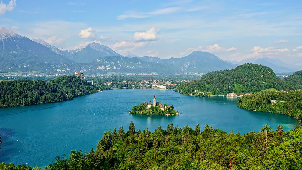 Lake Bled Slovenia Hotice Hsu Flickr
