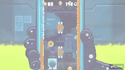 Blobout - un difficilissimo 'endless platform' da provare su Android!!