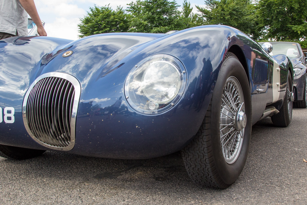 Goodwood Breakfast Club, June 2017 - Jaguar C Type Replica