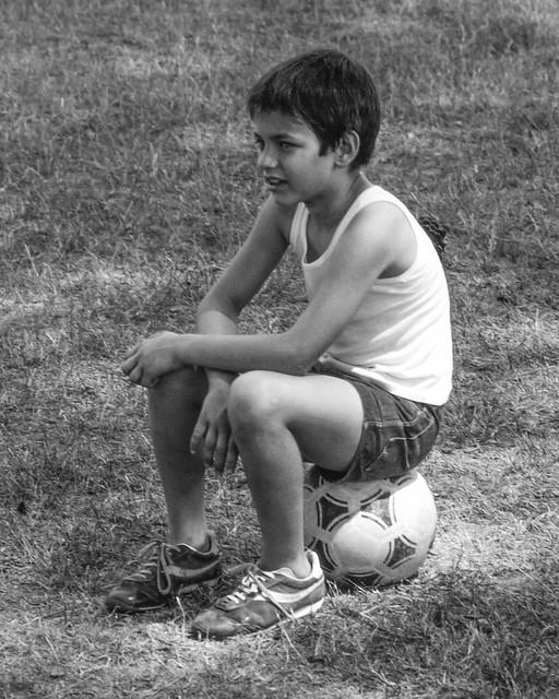 Luca e il pallone