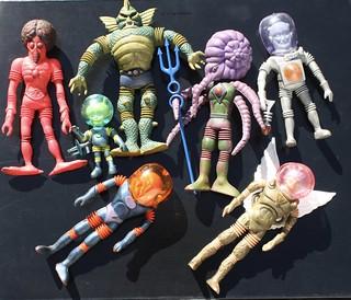 Colorforms Outer Space Men (1968)