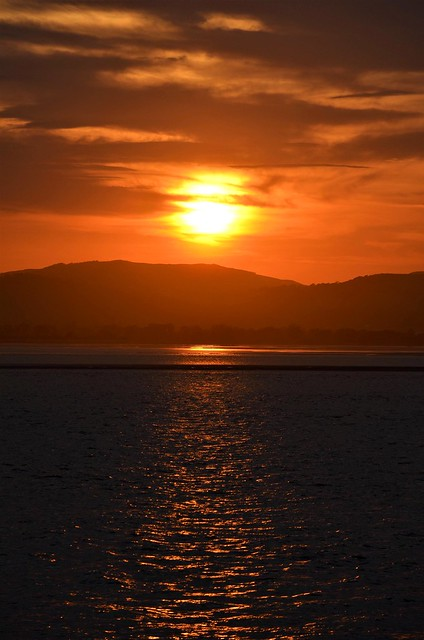 Sunset over the Tay.