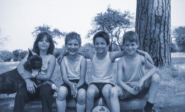 Quattro ragazzi a zonzo (per non parlar del cane)