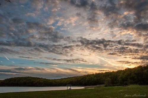 smack53 evening eveningsky sunset sundown paintedsky clouds sky waywayandastatepark statepark newjerseystatepark spring springtime lake lakewaywayanda nikon d300 nikond300 vernon newjersey