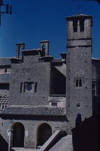 Santiago del Arrabal. Toledo en los años 50. Fotografía de Nicolás Muller  © Archivo Regional de la Comunidad de Madrid, fondo fotográfico