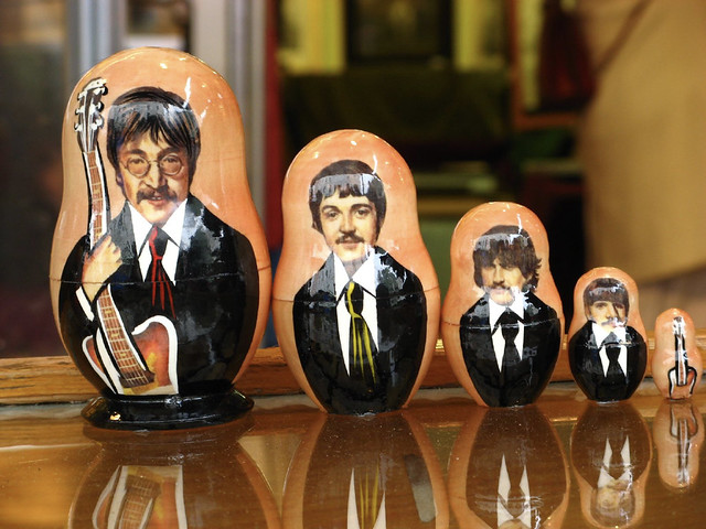 Beatles Matryoshka Dolls