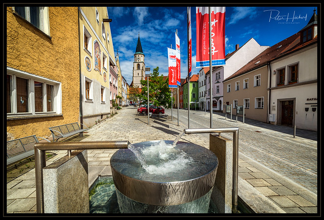 Castillon-Brunnen Nabburg