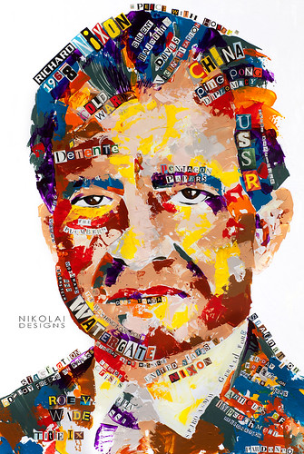 Richard M. Nixon | by nikolaidesigns.com