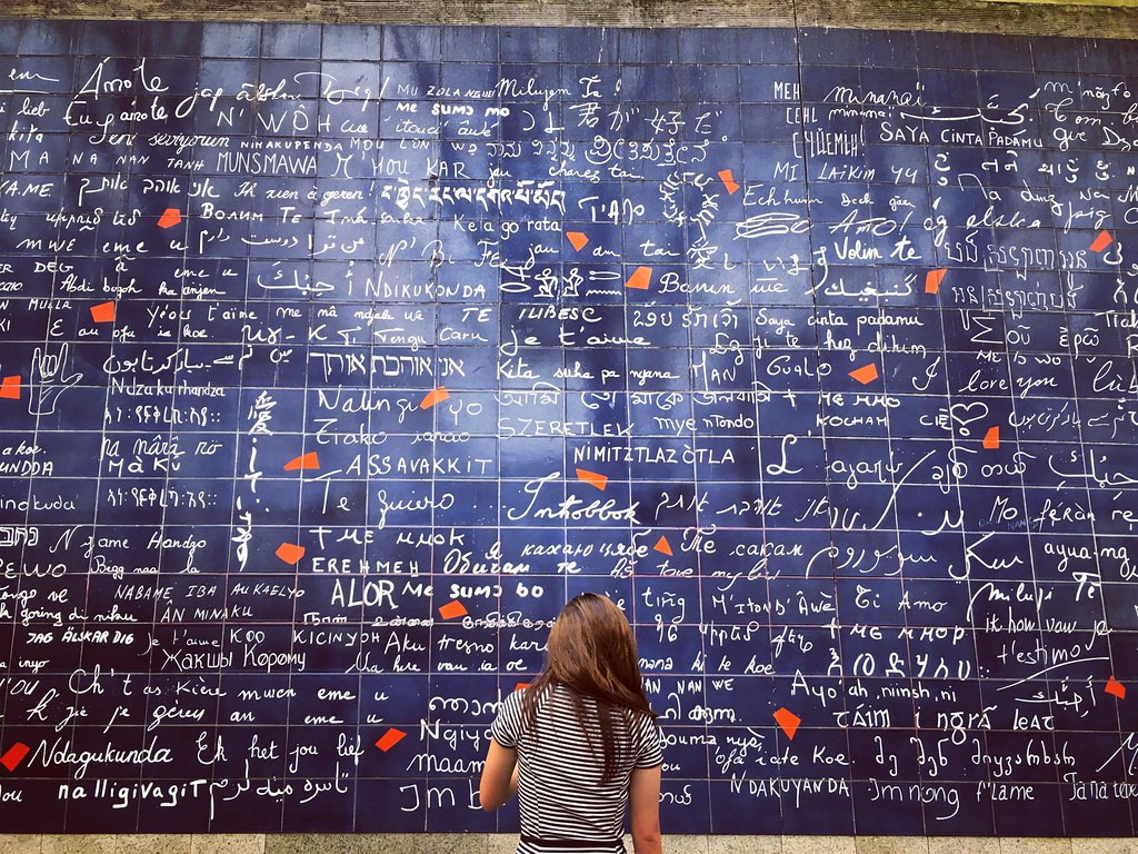 Le Mur des Je T'aime | Yeju Hwang, '19 (Paris: Neuroscience)… | Flickr