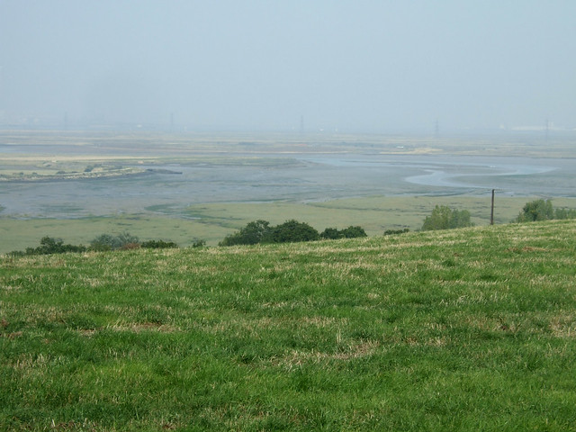 The marshes from Raspberry Hill near Iwade
