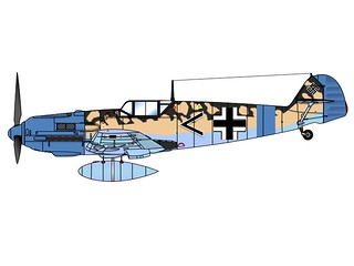Bf 109 Lw | by cacree