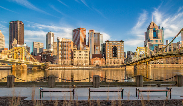 Pittsburgh from Allegheny Landing