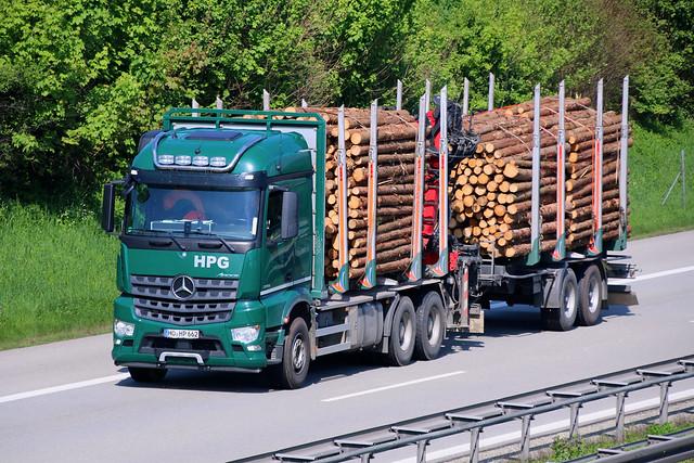 MB Arocs 2651 / Holztransporter