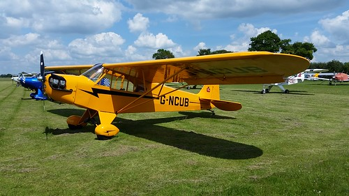 Piper J3C-65 Cub - Rougham Airfield, Bury St Edmunds, Saturday 3rd June 2017 | by CDay86