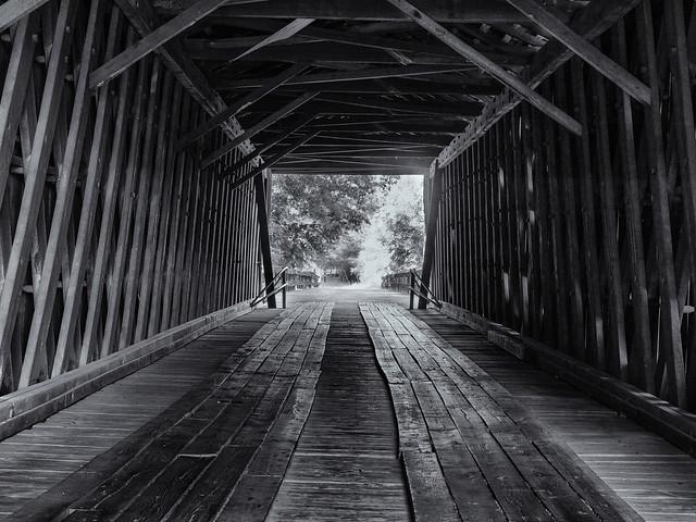 Inside the bridge