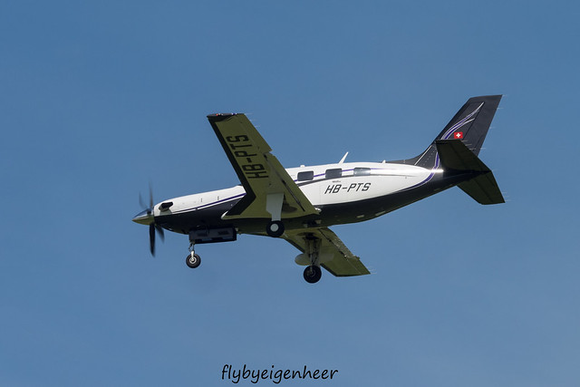 HB-PTS Piper PA-46 500TB Malibu P46T > Mirage Flying Clup