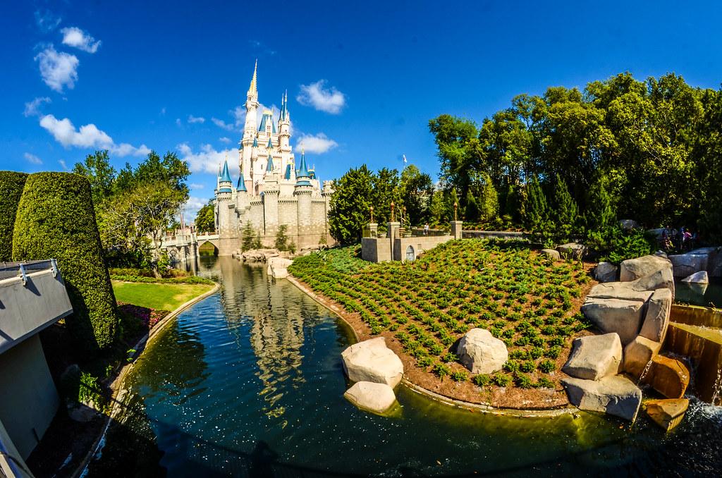 MK castle and garden